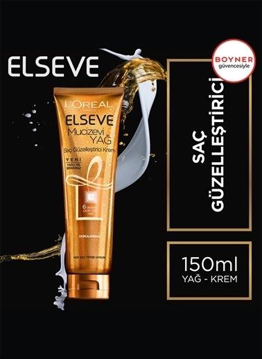 L'Oréal Paris L'Oréal Paris Elseve Mucizevi Yağ Saç Güzelleştirici Krem 150 ml - Her Saç Tipi Renksiz
